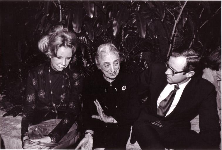 President Francis Roberts and Charlotte Biber Winsor