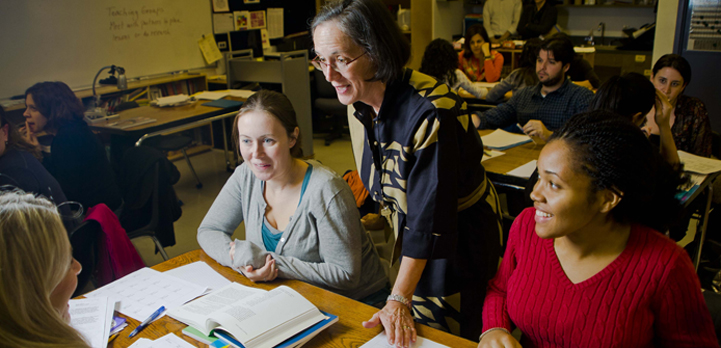 Small classes focused on learner-centered education