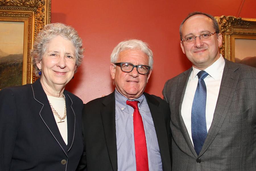 Elizabeth Dickey, Stuart Firestein, Tony Asnes