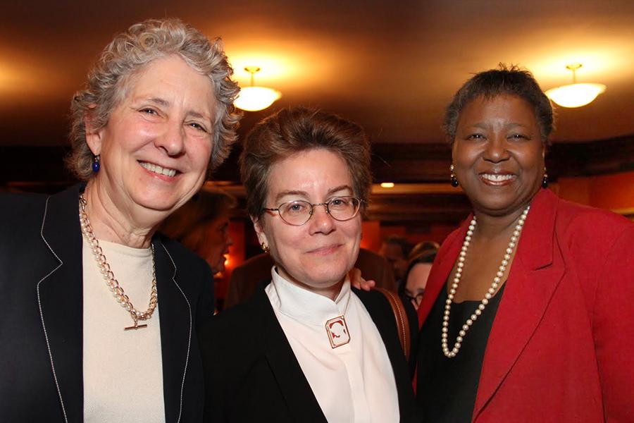Elizabeth Dickey, Victoria Hamilton, Marcia Sells
