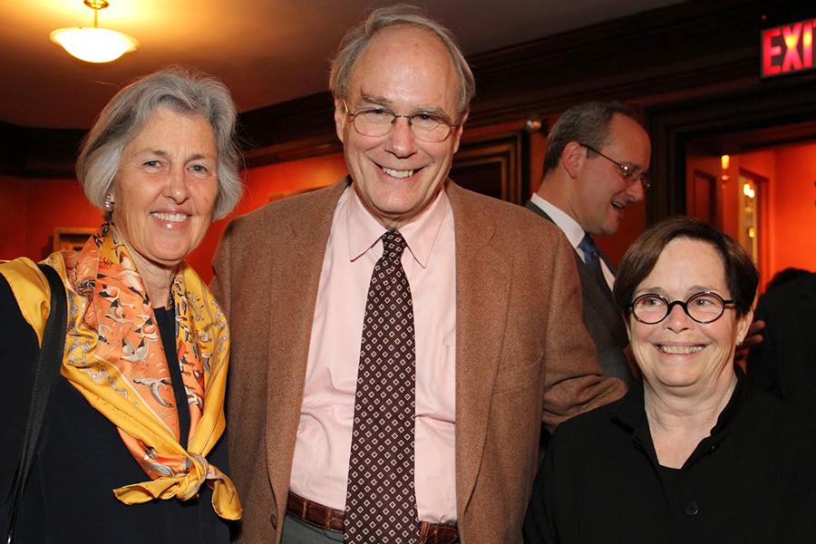 Sarah & Geoffrey Gund, Laura Parsons