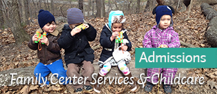 Family Center Admissions banner