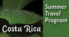 Costa Rica Study Abroad 2014