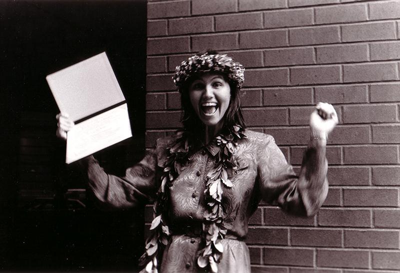 A graduate in 1991