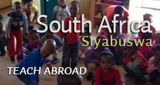 Teach Abroad South Africa Siyabuswa