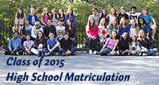 High School Matriculation 2015