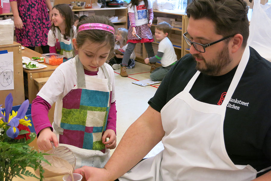 Students acts as Chefs