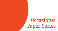 Occasional Paper Series side banner