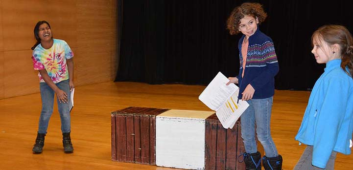 Children perform a play from the Bard over the course of a year.