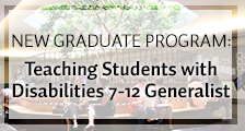 Teaching Students with Disabilities 7-12 Generalis