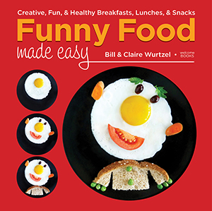 funny food book cover