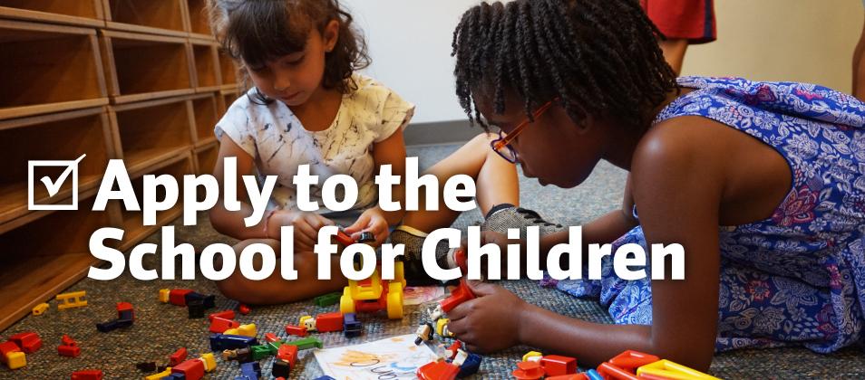 Apply Now to Bank Street School for Children