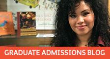 Graduate Admissions Blog Banner