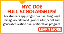 DOE Dual Language/Bilingual Scholarship