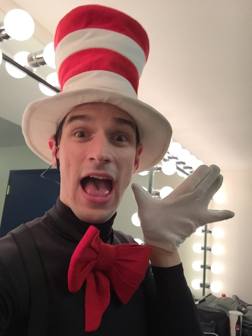 Michael as the Cat in the Hat