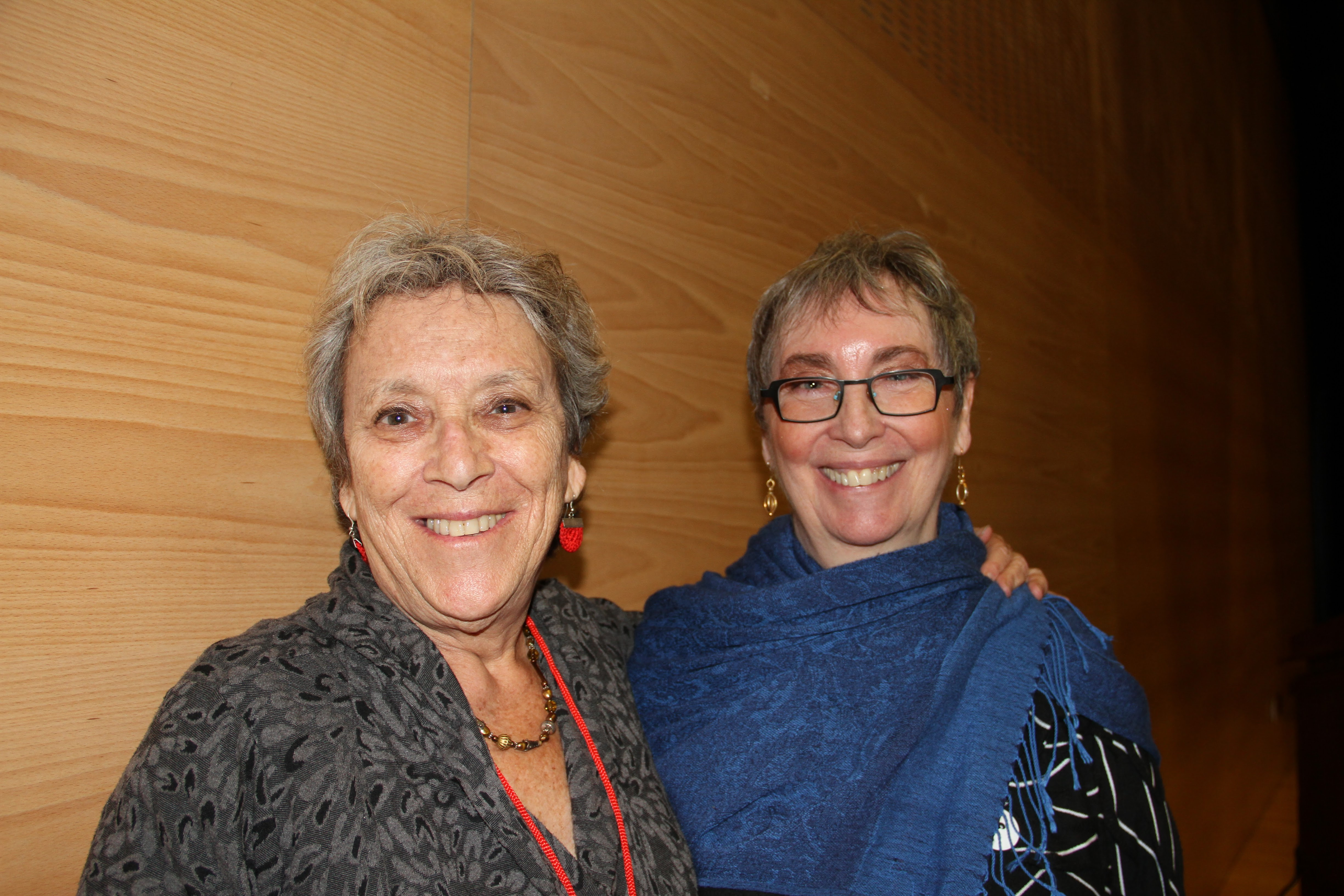 Betsy Grob (L) and Fretta Reitzes (R)