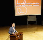 Jed Lippard Gives State of the School Address to School for Children Parents
