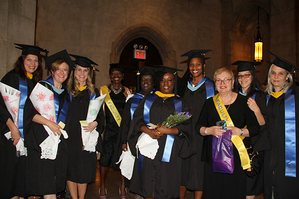 Early Childhood Leadership graduates