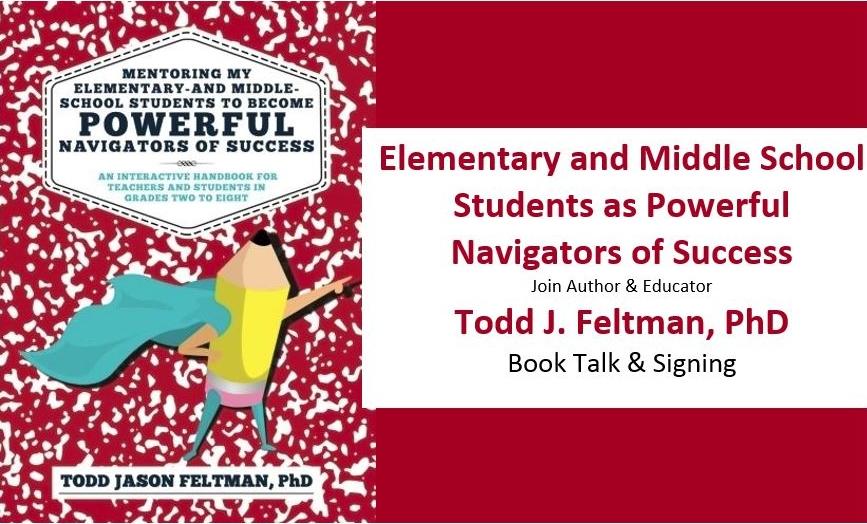 Todd J Feltman PhD, Book Talk and Signing
