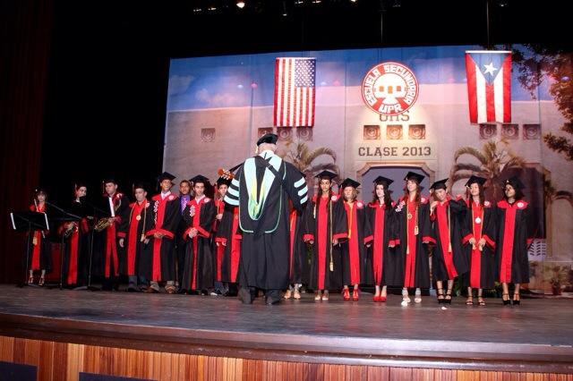 University of PR High School graduation
