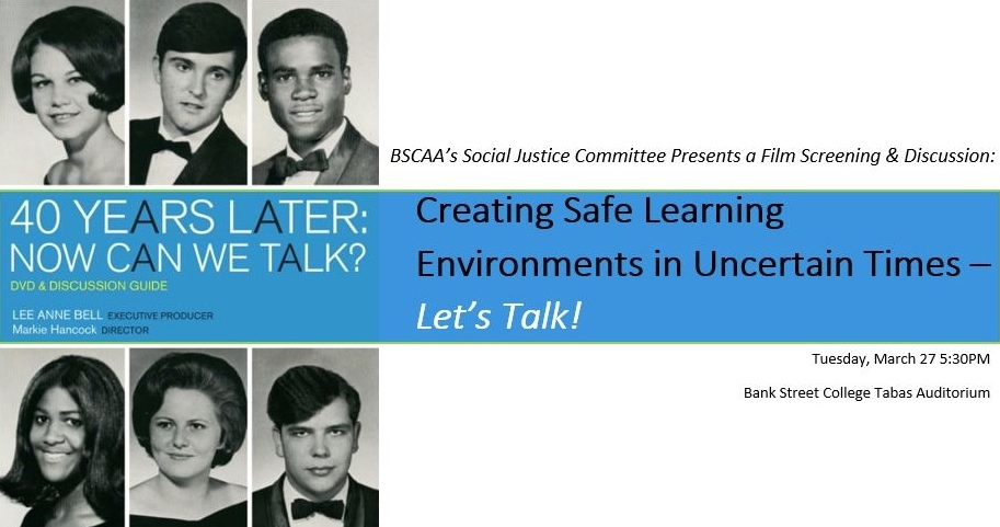 Creating Safe Learning Environments in Uncertain Times – Let's Talk!
