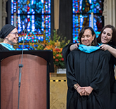 Frances Lucerna Honored at Bank Street Graduate School of Education Commencement